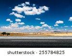 Long Desert Highway Under The...