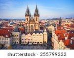 czech republic  prague  april... | Shutterstock . vector #255799222