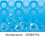 the beautiful water background. | Shutterstock .eps vector #25584751