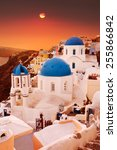 Santorini  Classic View Of Blu...