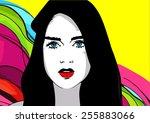 portrait | Shutterstock . vector #255883066