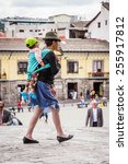 quito  ecuador   jan 2  2015 ...   Shutterstock . vector #255917812