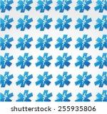 seamless medical patter... | Shutterstock .eps vector #255935806