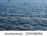 Surface Of A Sea Covered With...