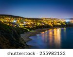 view of the pacific ocean and... | Shutterstock . vector #255982132