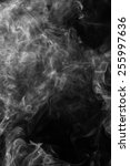 white smoke on a black... | Shutterstock . vector #255997636
