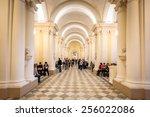 saint petersburg  russia   feb... | Shutterstock . vector #256022086