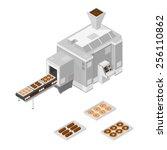 a vector illustration of a... | Shutterstock .eps vector #256110862