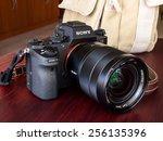 bangkok   february 19  sony... | Shutterstock . vector #256135396