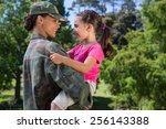 Soldier Reunited With Her...