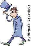 cartoon illustration of... | Shutterstock . vector #256148935