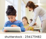 education  elementary school ... | Shutterstock . vector #256175482