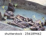 Small photo of Archaeologists explore the huge tomb from the mid-18th century,Archaeologically Sites, Photography