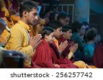 rishikesh  india   dec 12  2014 ... | Shutterstock . vector #256257742