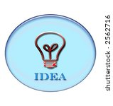 idea button for all those who... | Shutterstock . vector #2562716