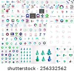 mega collection of universal... | Shutterstock .eps vector #256332562