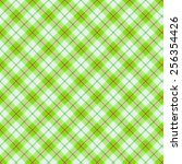 Green Tartan Seamless Background