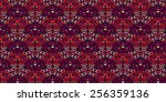 red abstract pattern background | Shutterstock . vector #256359136