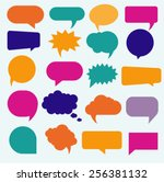 vector isolated colorful big