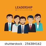 teamwork design  vector... | Shutterstock .eps vector #256384162