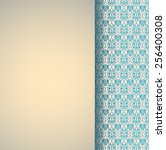 Vintage Classical Blue And...