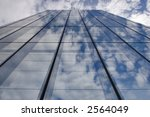 a mirror wall of a skyscraper... | Shutterstock . vector #2564049