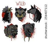 wild 1 | Shutterstock .eps vector #256407112