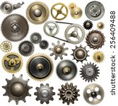 Metal Gear  Cogwheels  Pulleys...