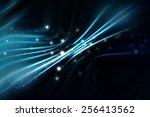 abstract blue elegant... | Shutterstock . vector #256413562