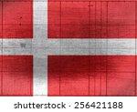 National Flag Of Denmark Theme...