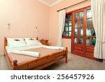 bedroom interior of a luxury... | Shutterstock . vector #256457926