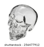 Crystal Head Skull  Isolated...