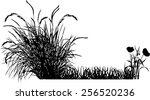 bush | Shutterstock .eps vector #256520236