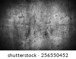 grunge concrete wall background | Shutterstock . vector #256550452