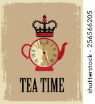 Tea Time In London Poster