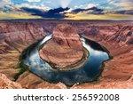 Horseshoe Bend  Colorado River. ...