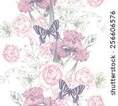 seamless background. design for ... | Shutterstock . vector #256606576