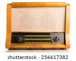 old radio tuner | Shutterstock . vector #256617382