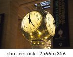 Clock At Grand Station Central