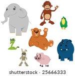 animals | Shutterstock . vector #25666333