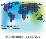 world mosaic | Shutterstock .eps vector #25667038