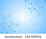abstract background medical... | Shutterstock .eps vector #256700926