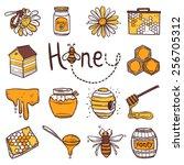 Honey Hand Drawn Decorative...
