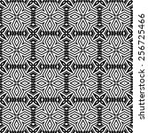 pattern seamless design vector... | Shutterstock .eps vector #256725466