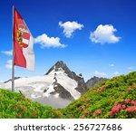 Grossglockner With Flag Of...