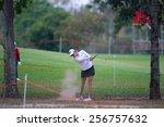 pattaya  thailand  paula... | Shutterstock . vector #256757632