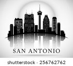 San Antonio Texas City Skyline...