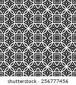 pattern seamless design vector... | Shutterstock .eps vector #256777456