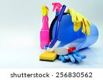 cleaning | Shutterstock . vector #256830562