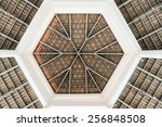 The Abstract Of The Top Roof...